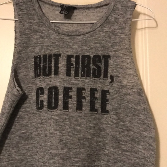 But first coffee shirt forever 21